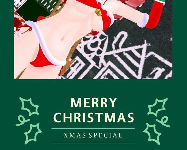 [R-18VR]聖誕節福利包初音女天狗系列內射性愛影片