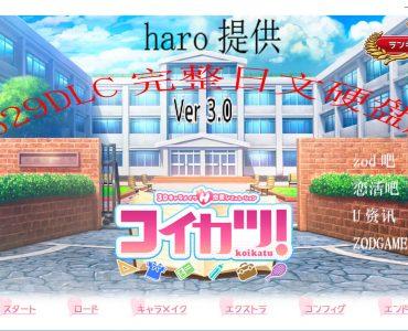 「2018.6.30」「戀愛活動3.0」「自製不含插件」「原始日文硬盤版6.85G」