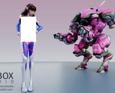 Firebox Studio 鬥陣特攻H系列 高清貼圖與影片