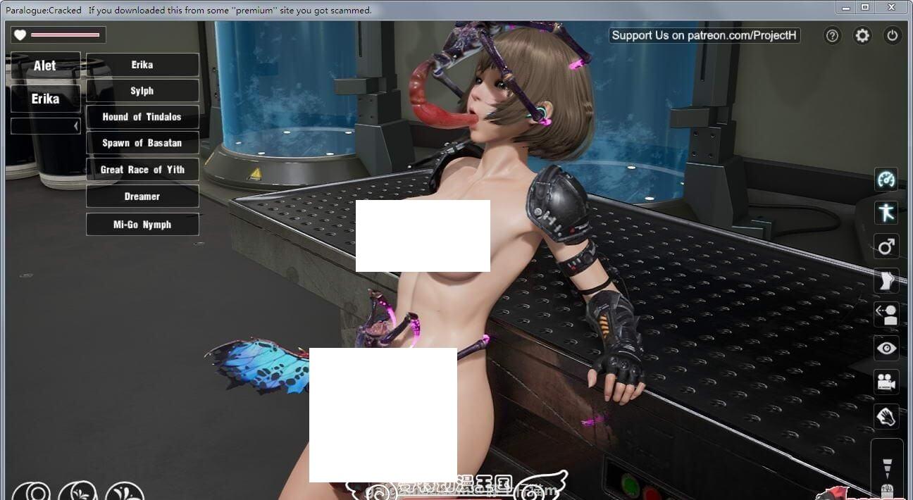 Paralogue 墮落玩偶女2號 v0.23 破解版+VR+動畫